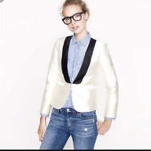 NWT J Crew Collection wool silk tuxedo blazer